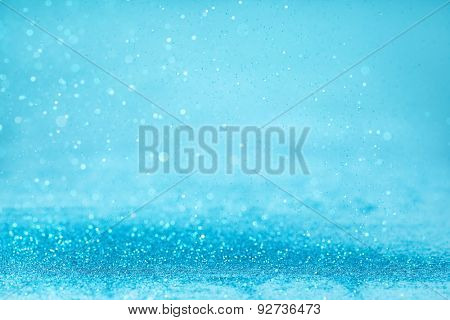 abstract background with blue twinkle