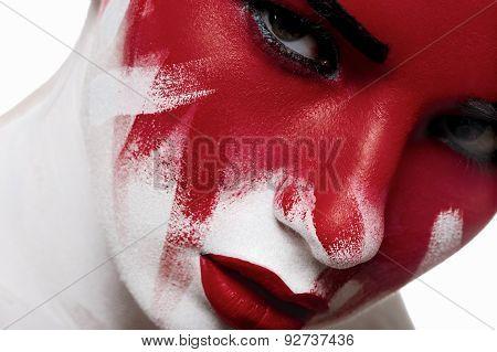 Halloween Fashion Beauty Makeup
