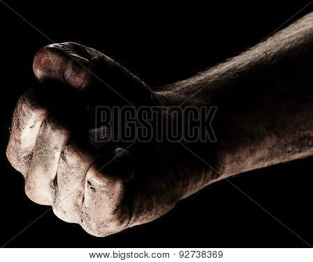 Male Clenched Fist
