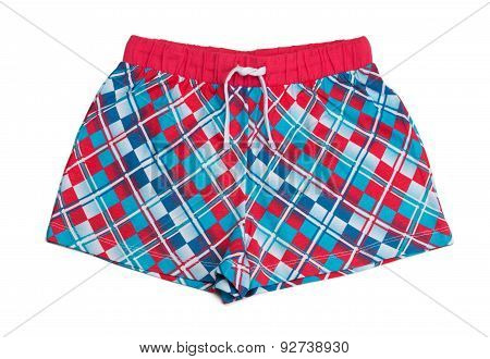 Red Night Shorts
