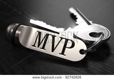 MVP Concept. Keys with Keyring.