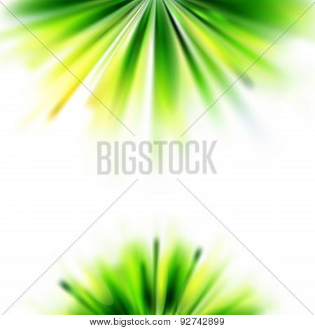 Summer Green Grass Abstract Background