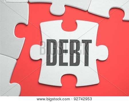 Debt - Puzzle on the Place of Missing Pieces.