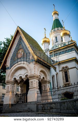 St. Nicholas church in Sofia