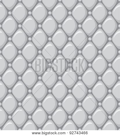 Abstract Seamless Pattern of a Leather Upholstery