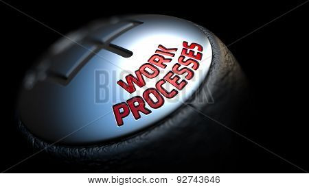 Work Processes on Gear Shift.