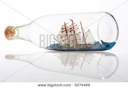 Bottle And Ship