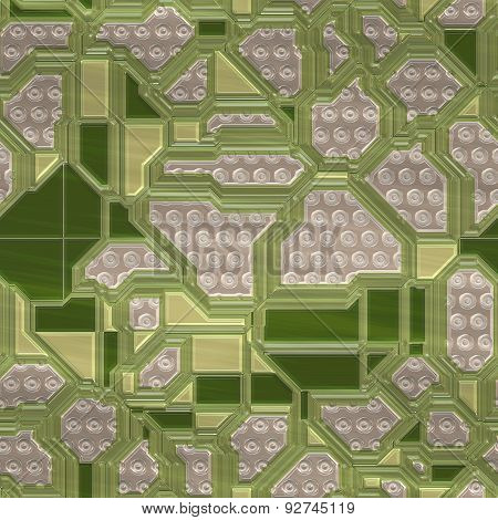 Circuits Abstract Seamless Generated Texture