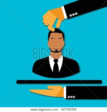 hand, agency, best, man candidate