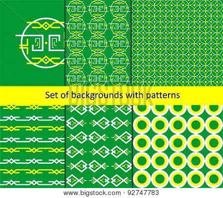 The Pattern Background Set