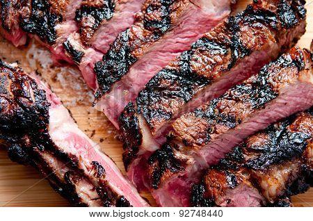 Rare Rib Steak