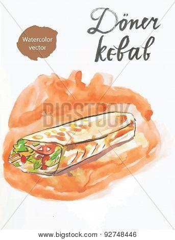 Döner Kebab (kebap)