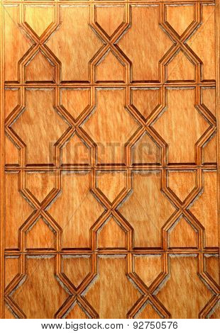 Vintage door in Imam(Shah) Mosque, Naqsh-e Jahan Square