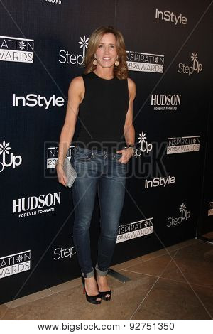 LOS ANGELES - JUN 5:  Felicity Huffman at the Step Up Women's Network 12th Annual Inspiration Awards at the Beverly Hilton Hotel on June 5, 2015 in Beverly Hills, CA