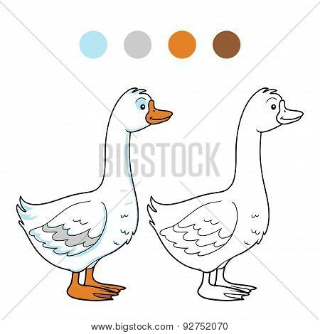 Coloring Book (goose)