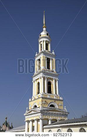 Belltower of St. John Evangelist. Kolomna, Russia