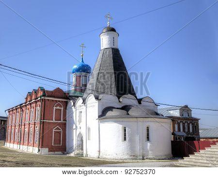 Brusensky Monastery in Kolomna, Russia