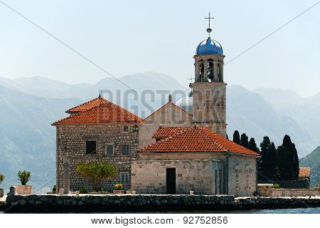 Our Lady Of The Rocks In Bay Of Kotor, Montenegro