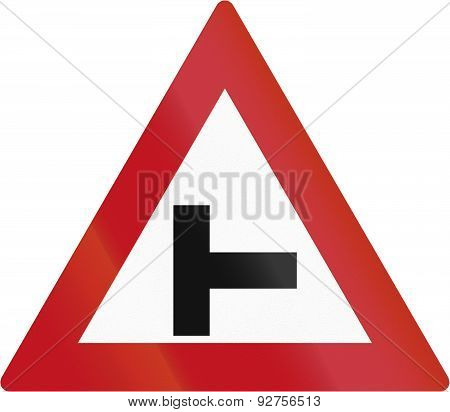 T-intersection In Botswana