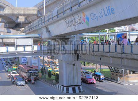 Urban lifestyle Bangkok