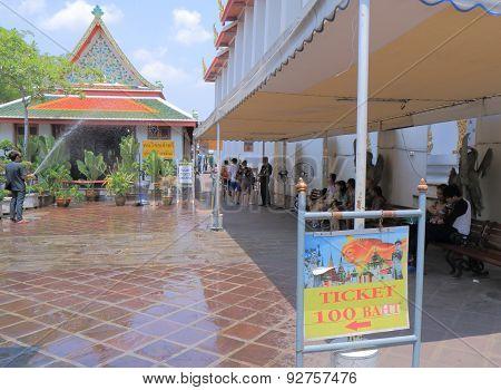 Wat Pho temple Bangkok Thailand