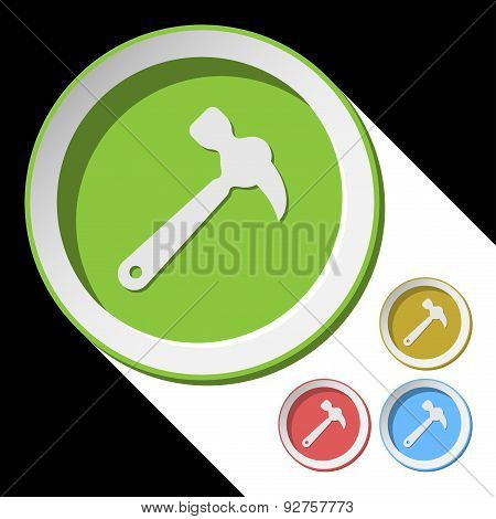 Color Icons With Claw Hammer