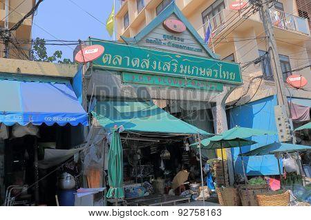 Flower market Bangkok Thailand