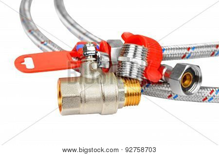 Plumbing fitting, tap and hosepipe