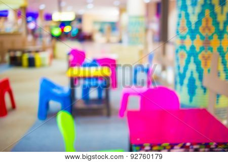 Blurred background Art classes for kids