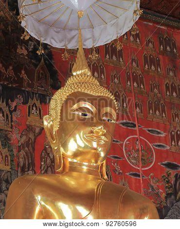 Wat Saket Buddhism temple Thailand