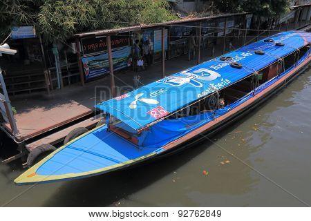 River boat Bangkok Thailand