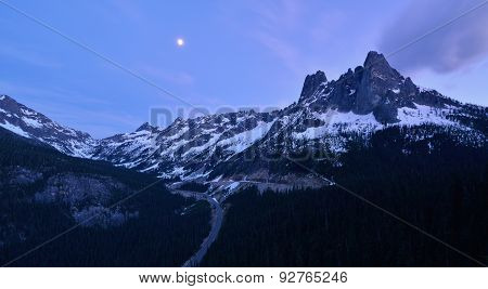 Liberty Bell And The Early Winter Spires, North Cascades