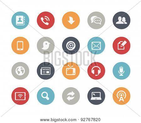 Media Communications Icons // Classics Series