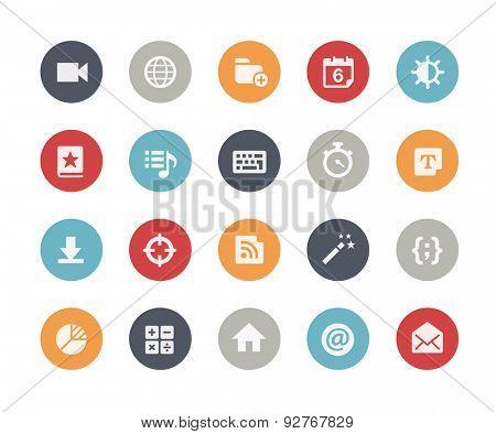 Web & Mobile Icons - 4 // Classics Series