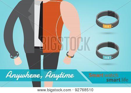 Smart Watch Smart Life