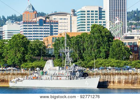 Navy And Portland, Oregon