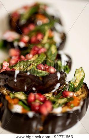 Aubergine Eggplant Meal