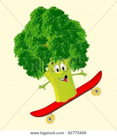 Cheerful broccoli,