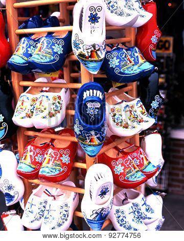 Clogs for sale, Holland.
