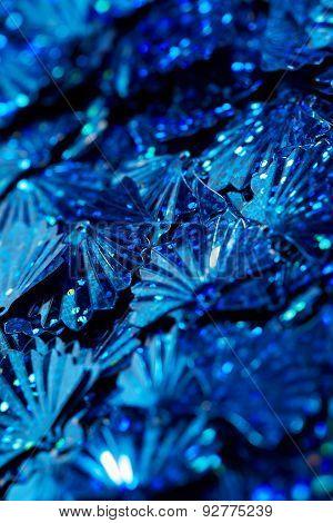 Blue Sequins