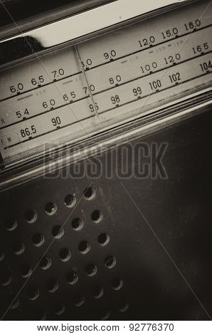 Old Radio Receiver
