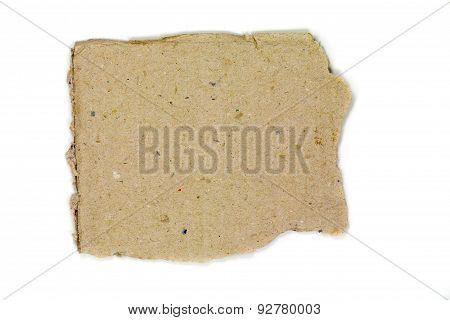 Cardboard Torn