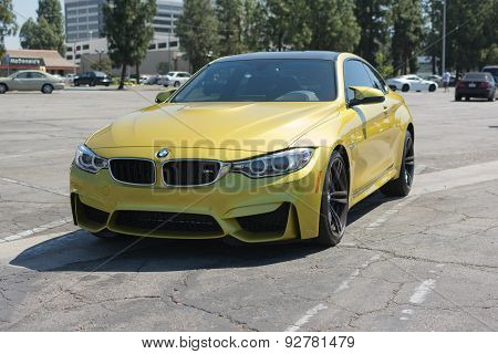 Bmw M4 Car On Display