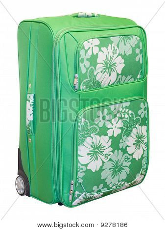 Green Travel Suitcase