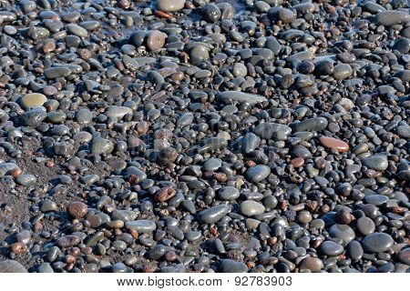 Background with natural stones