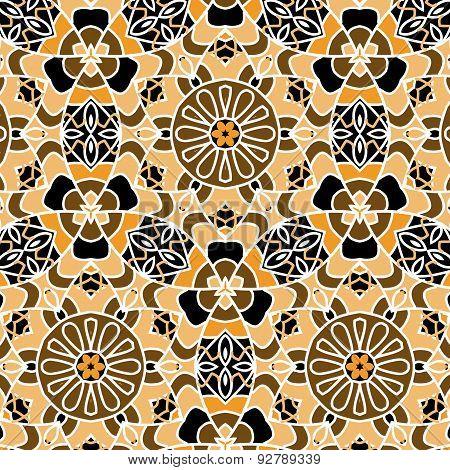 Primitive Simple Retro Pattern Mosaic