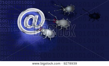 Viruses Are Nuking An E-mail