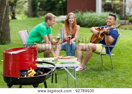 Outdoors Barbeque
