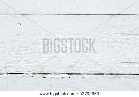 White Vingate Wooden Table Texture And Surface