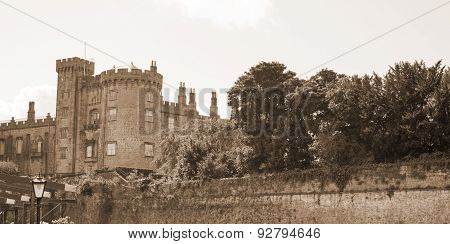 Sepia View Of Kilkenny Castle